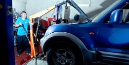 החלפת מנוע דיזל - הוצאת המנוע
