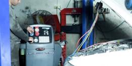 מכונת מילוי גז מזגן לרכב